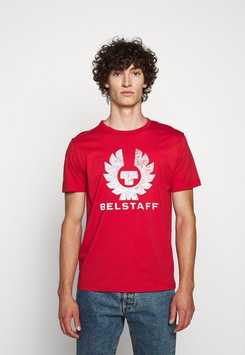 Belstaff - COTELAND  - Print T-shirt - red