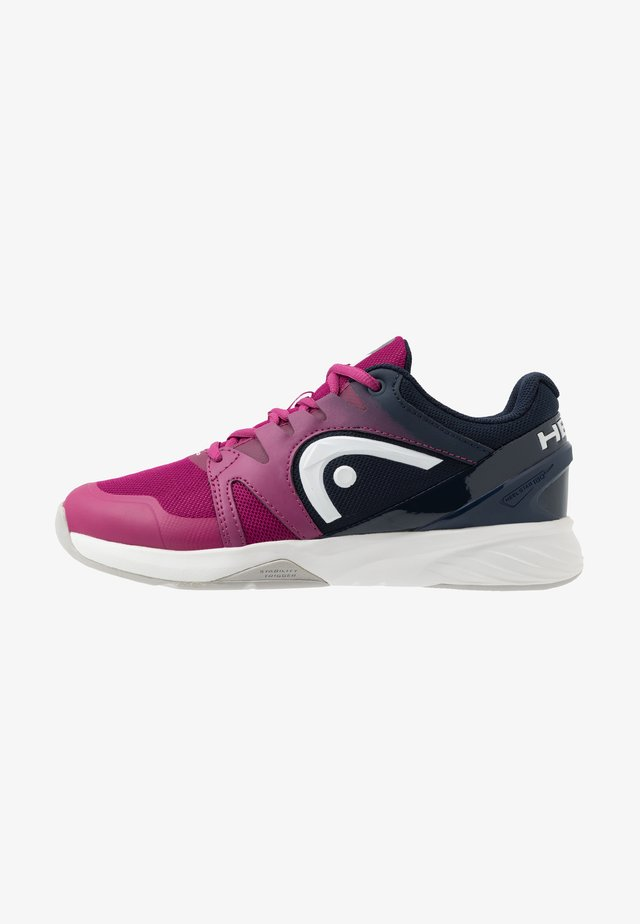SPRINT 2.5 CARPET WOMEN - Scarpe da tennis per terreno sintetico - plum