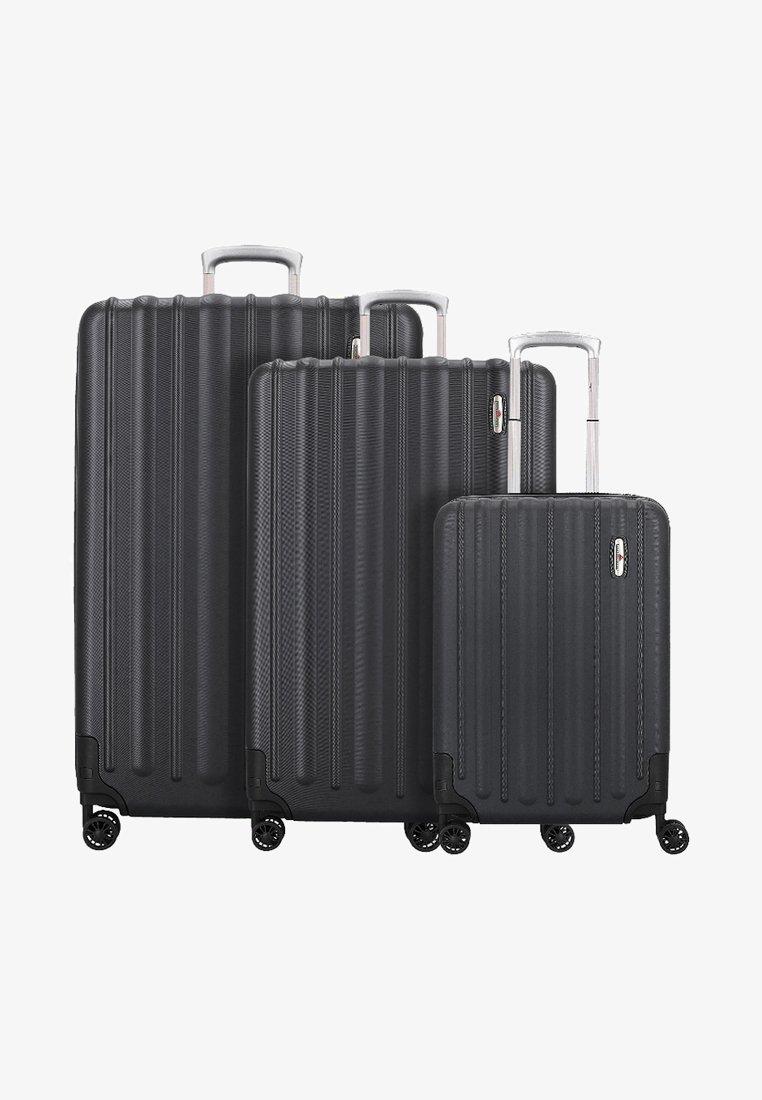 Hardware - Luggage set - black