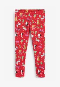 Next - CHRISTMAS  - Leggings - Trousers - red - 0