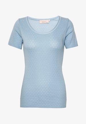 BASIC NEW - T-shirts med print - powder blue
