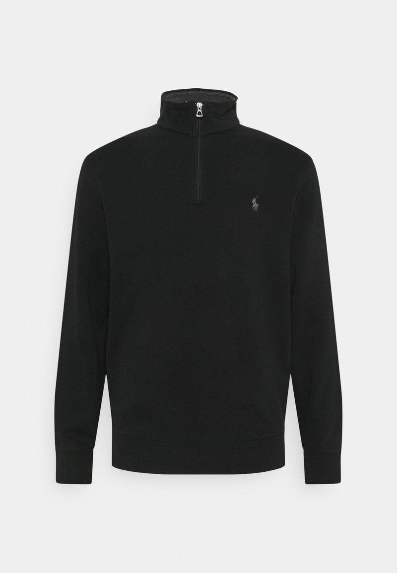 Polo Ralph Lauren - JERSEY QUARTER-ZIP PULLOVER - Sweatshirt - polo black