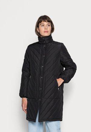 REVNA QUILT COAT - Classic coat - black