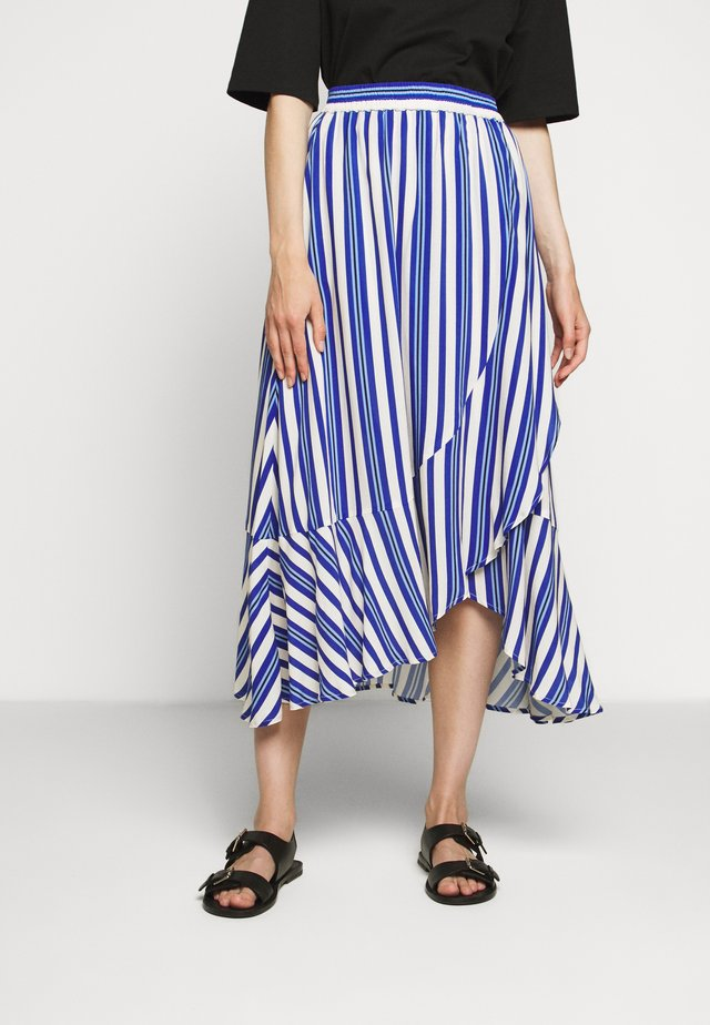 DEFINE - A-line skirt - royal