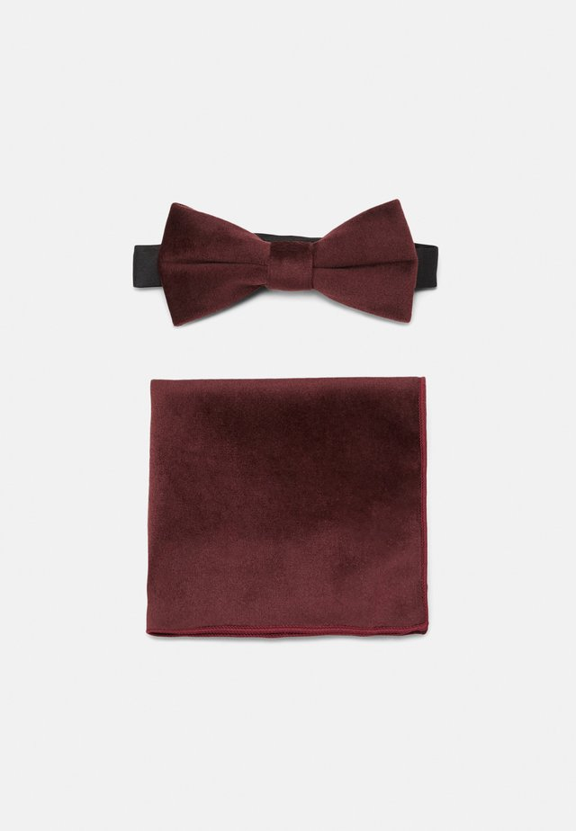 ONSTBOX THEO BOW TIE HANKERCHIEF SET - Kapesník do obleku - winetasting