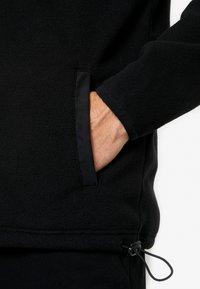 Urban Classics - POLAR TRACK JACKET - Fleece jacket - black - 5