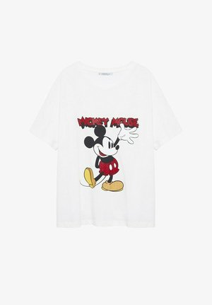 MICKEY MOUSE - T-shirts print - blanc