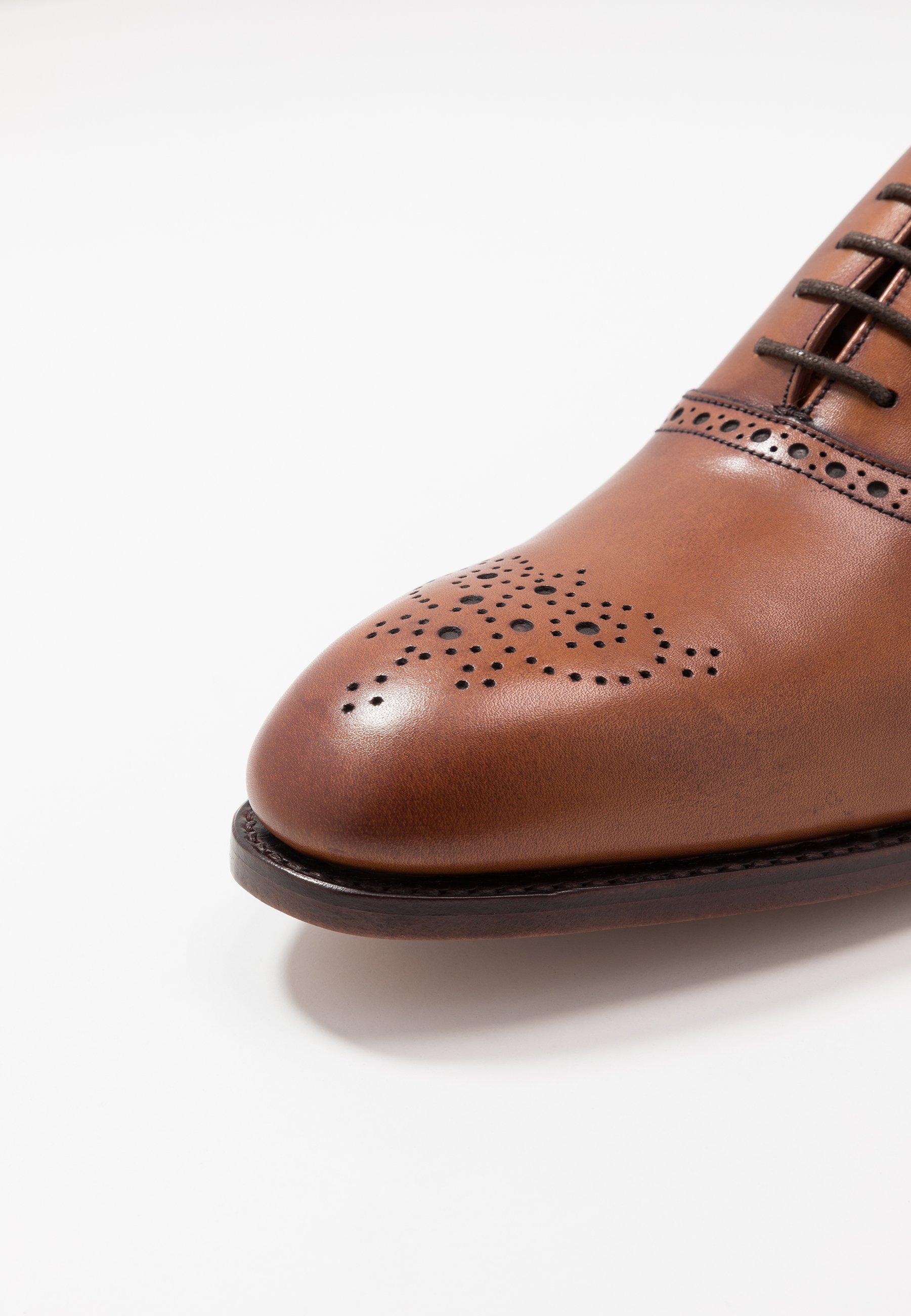 In vendita Scarpe da uomo Barker NEWCHURCH Stringate eleganti antique rosewood