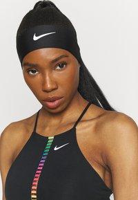 Nike Performance - DRI FIT HEAD TIE  - Paraorecchie - black/white - 0