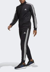 adidas Performance - Tracksuit - top:black/white bottom:black/white - 3