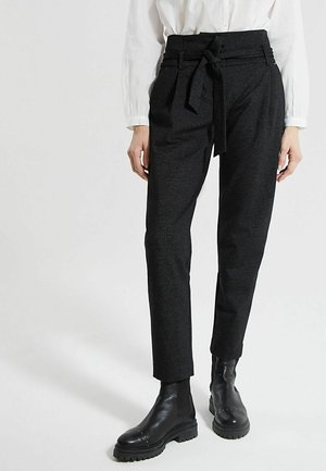 MILANO KNIT COMBAT  - Trousers - gris anthracite