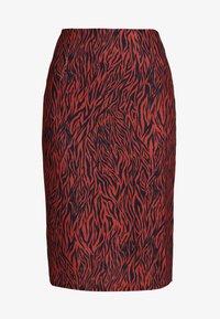 Anna Field - A-line skirt - burnt henna - 3