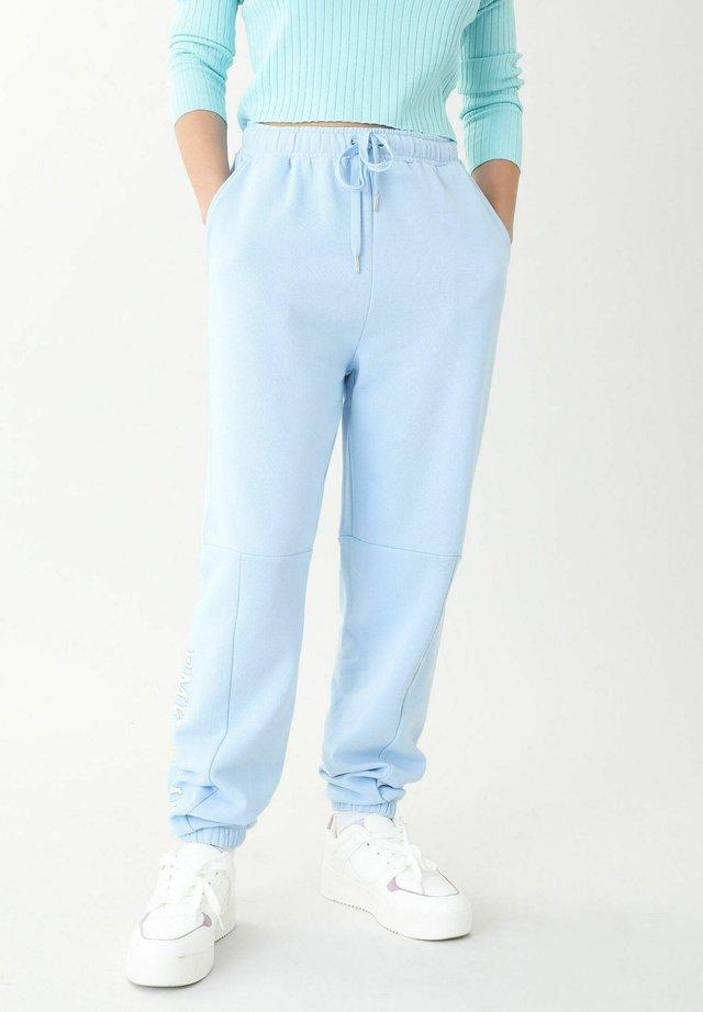 MOLTON - Pantaloni sportivi - blau