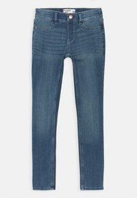 Abercrombie & Fitch - Skinny džíny - medium dark wash - 0