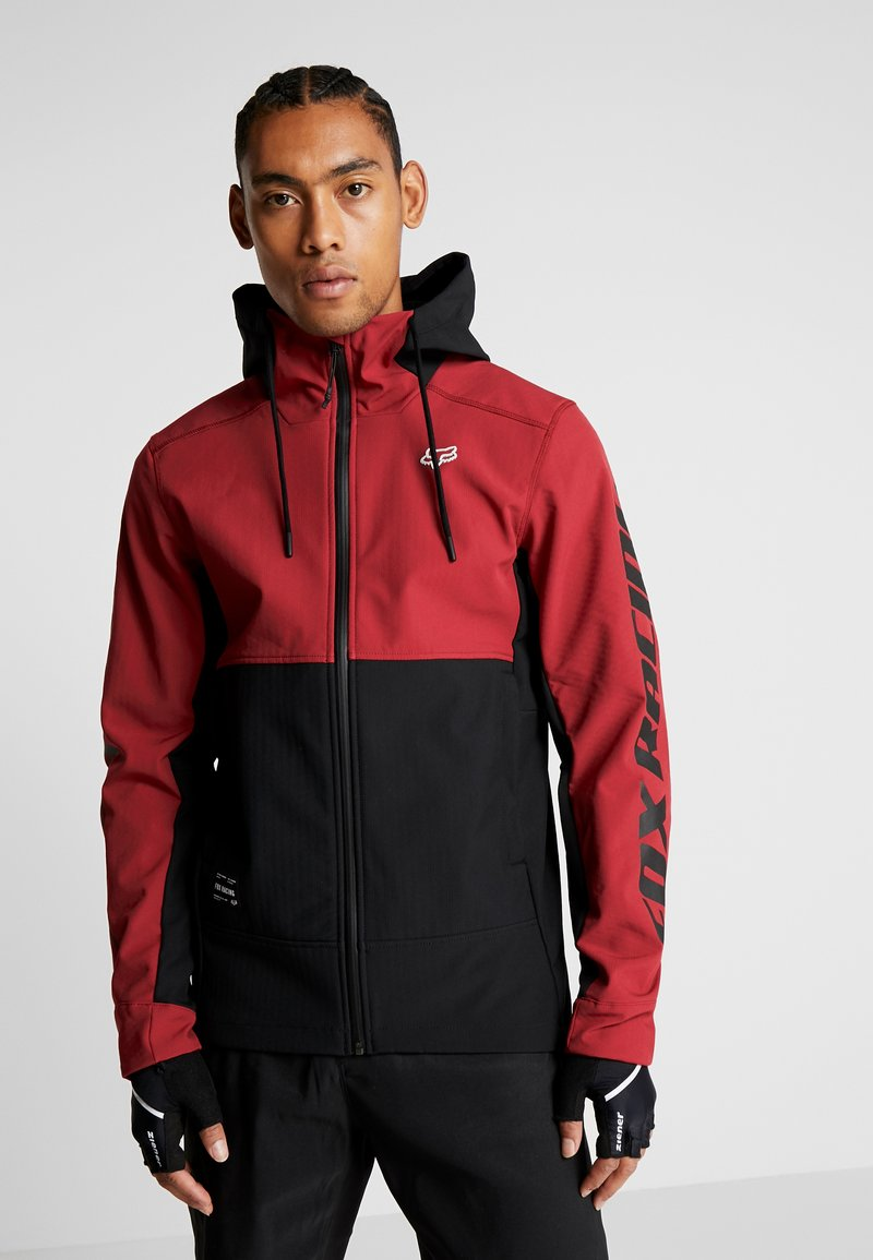 Fox Racing - PIT JACKET - Soft shell jacket - cardinal