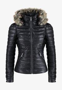 Morgan - CRAIE - Faux leather jacket - noir - 7