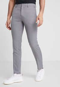Cross Sportswear - BYRON HOUND TOOTH - Chinos - white - 0