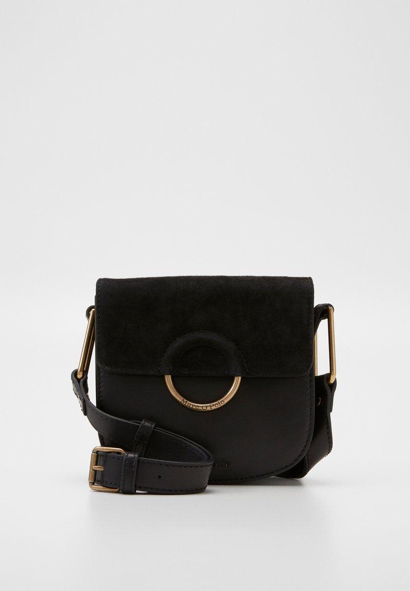 Marc O'Polo - CROSSBODY BAG - Across body bag - black