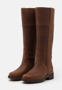 Timberland - GRACEYN TALL SIDE ZIP WP - Boots - rust - 2