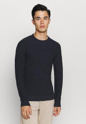 JJEAARON  - Strickpullover - navy blazer