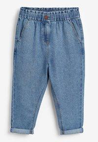 Next - ELASTICATED WAIST  - Straight leg jeans - blue - 0