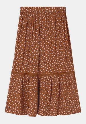 TRISH - Maxi sukně - mocha bisque