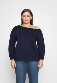 Even&Odd Curvy - Sweatshirt - blue - 0