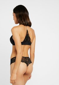 LASCANA - RHINESTONES - Push-up bra - black - 2