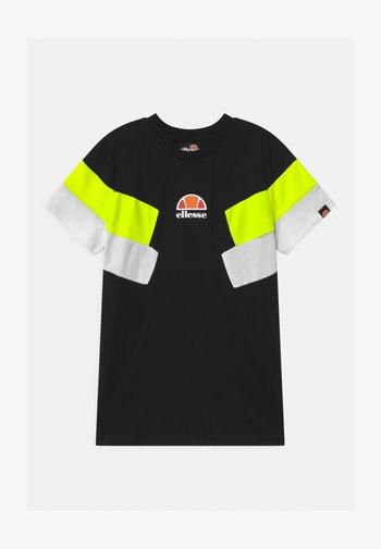 JONARO - Print T-shirt - black
