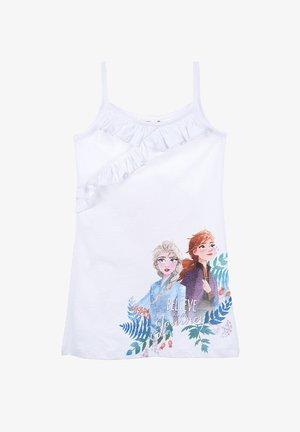 ANNA & ELSA - Jersey dress - weiß