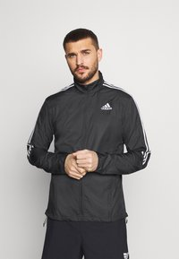 adidas Performance - MARATHON - Sports jacket - black/white - 0