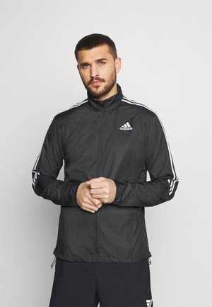 MARATHON - Sports jacket - black/white