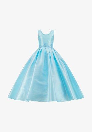 MIT PERLEN PRINZESSINNEN KINDERKLEID M - Cocktail dress / Party dress - blau