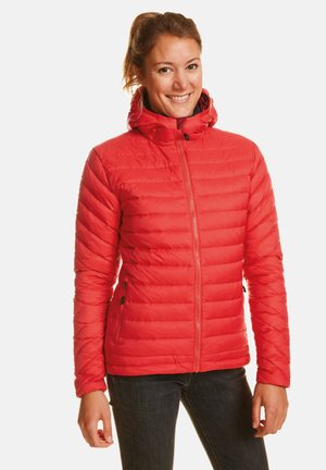 ARIA - Down jacket - tomato pure