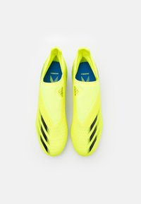 adidas Performance - X GHOSTED.3 LL FG - Moulded stud football boots - solar yellow/core black/royal blue - 3
