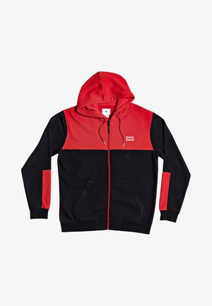 DOWNING - Zip-up hoodie - racing red