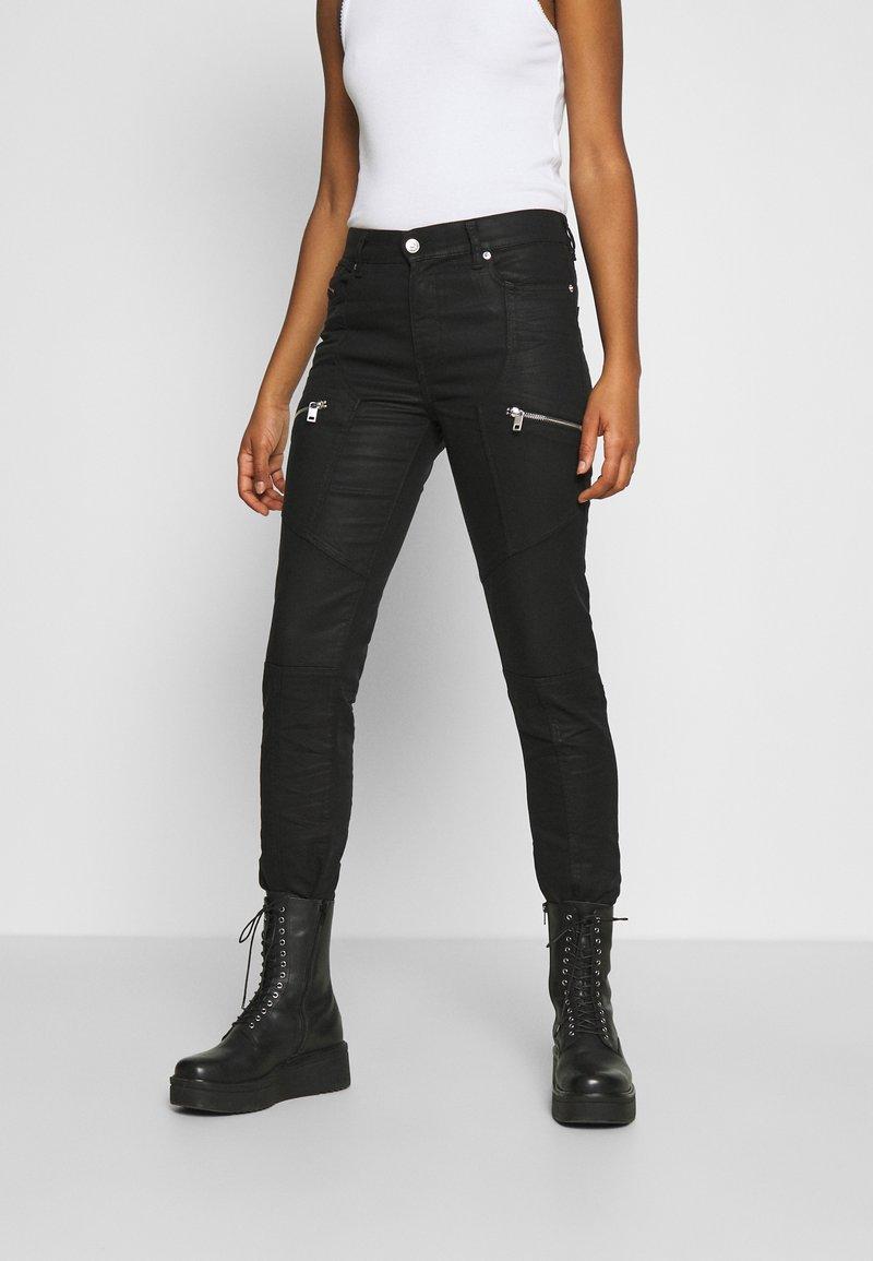 Diesel - D-OLLIES-BK-SP1-NE - Slim fit jeans - black