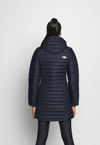 The North Face - W STRETCH DOWN PARKA - Down coat - aviator navy - 2