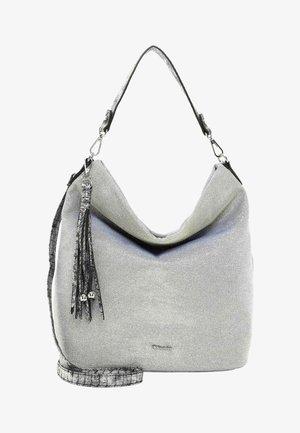 DEBBY - Handbag - silver