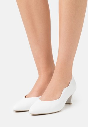 COURT SHOE - Klassiske pumps - white