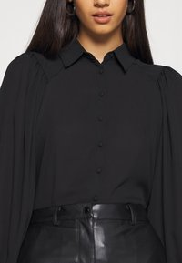 ONLY - ONLLAVIN - Button-down blouse - black - 5