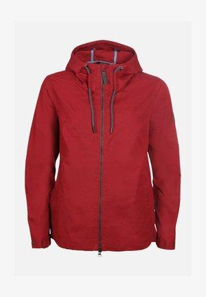 Outdoor jacket - darkred