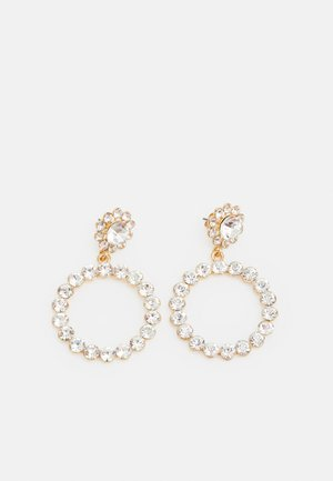 PCMADELINE EARRINGS  - Orecchini - gold colour/clear