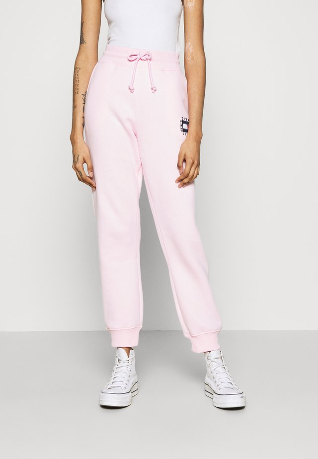 BOX FLAG PANT - Trainingsbroek - pink