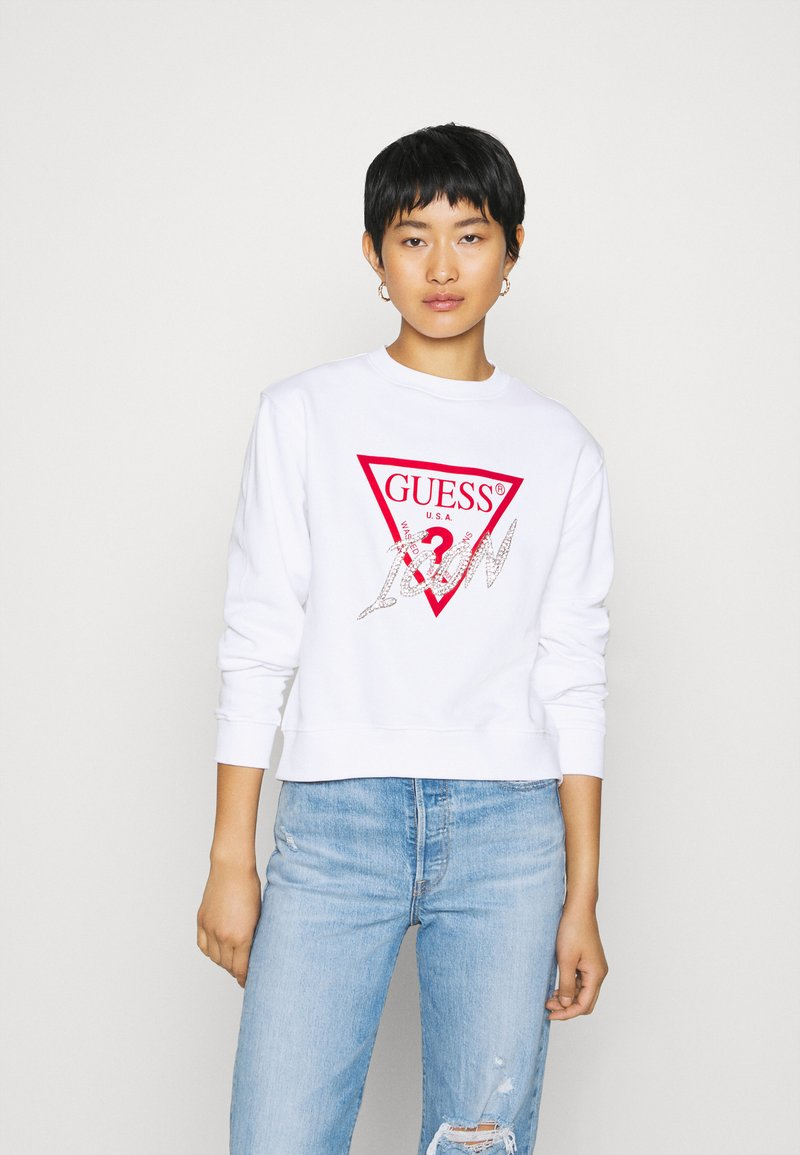 Guess - ICON - Sweatshirt - true white