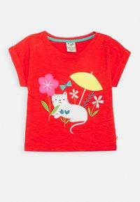 Frugi - SOPHIA SLUB - T-shirt print - koi red - 0