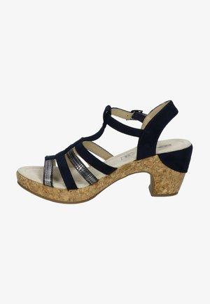 Sandalen - blauw