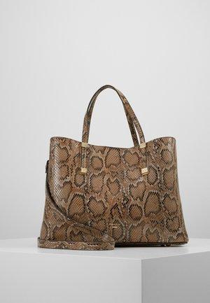 DORRIE - Handbag - natural