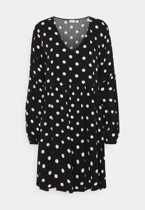 JDYKATE LIFE DRESS - Vestido informal - black/white