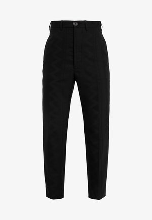 CROPPED GEORGE - Suit trousers - black
